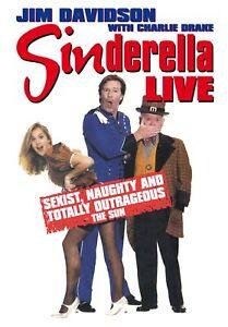 Sinderella Live - Jim Davidson, Charlie Drake, Jess Conrad DVD