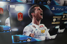 Sony PlayStation Ps4 Slim 1TB + 2 Controller + Fifa 18 + FUT + PS Plus - NEU/OVP