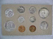 US 1952 P&D Mint Coin Set Bell Lines