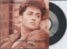 RICKY FLEMING - Doe wat je niet laten kunt / Dromen CD SINGLE 2TR CARDSLEEVE