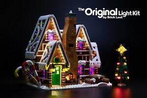 Brick Loot Light LED Lighting Kit for LEGO ® Gingerbread House set 10267
