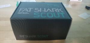 Fat Shark Scout FSV1132 FPV Drone Racing Goggles 1136 x 640 Resolution -Open Box