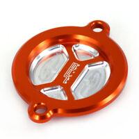 Oil Filter Covers Caps For KTM SXF XCF EXC XCW SMC SMR 450 500 Duke SMC 690 1190