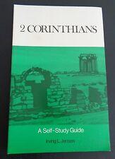 2 CORINTHIANS Self Study Guide 1972 Paperback Book NEW Jensen FREE SHIP Bible