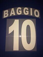 brescia kit BAGGIO plastichina Nameset maglia calcio garman