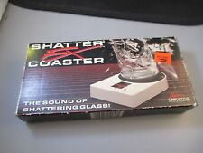 Vintage Sound effect Coaster Shatter FX breaking glass sound coaster 1989 Works