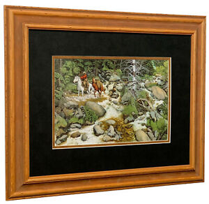 Bev Doolittle - The Forest has eyes - Matted & Framed Open edition Art Print