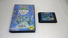 Teenage Mutant Ninja Turtles HYPERSTONE HEIST Sega GENESIS CART + CASE TMNT