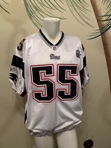 Willie McGinest Authentic Super Bowl XXXIX New England Patriots NFL Jersey