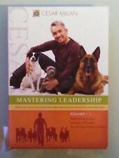 cesar millan  MASTERING LEADERSHIP volumes 1 2 3  DVD