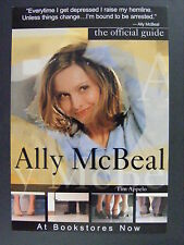Ally McBeal Official Guide Book Calista Flockhart Promo Advertising Postcard '99