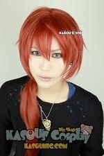 Rurouni Kenshin Kenshin Himura 100cm long cooper red orange ponytail cosplay wig