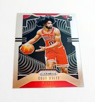 Coby White Prizm Rookie Card 2019-2020 Panini Basketball RC #253 Chicago Bulls