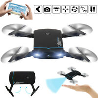 RC Drone x Pro With Camera Mini Foldable WIFI FPV Quadcopter Helicopters APP