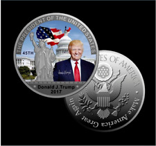 New Donald Trump 45th President US Commemorative Coin Make American Great Again