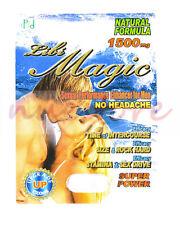 LIBI MAGIC MEN SEXUAL PERFORMANCE ENHANCEMENT PILL 100% AUTHENTIC LIBIDO
