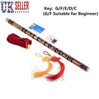 Chinese Bamboo Flute Professional dizi Musical instruments C D E F G Key UK Ship
