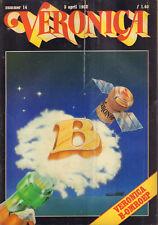VERONICA 1982 nr. 14 - VERONICA B-OMROEP/KIM WILDE/WILLEM RUYS/GOLIATH AWAITS