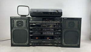 Sony 80s Complete HiFi Stereo System XO-D3 CDP-M20s PS-LX45P SS-A3