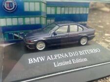 BMW ALPINA D10 BITURBO 1:87 OVP Limited Edition Made by Herpa for Alpina