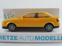 Rietze 10430 Audi Coupé S2 (1990-1996) in gelb 1:87/H0 NEU/OVP