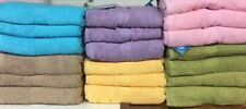 Set of 2 Large Cotton Terry Bath Sheets, Beach Towels, 35