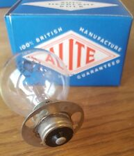 2 X VINTAGE 6 VOLT 24 WATT HEADLAMP BULBS