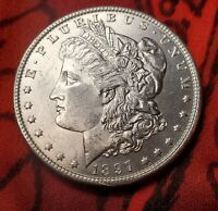 1897 CH BU Gem Morgan Silver Dollar Nice Coin Rare Gorgeous MS+++++ A Beauty!