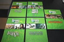 Discovery Channel DVD Lot Dragons Wild Animals Teacher Dirty Jobs Egypt --DDX+