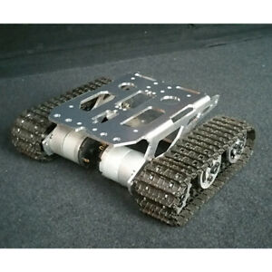 DIY Smart Robot Tank Auto Chassis Plattform Crawler Kit für   9V 12V