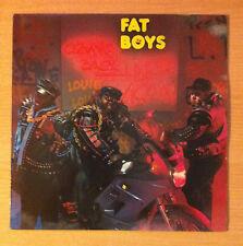 "FAT BOYS ""Coming Back Hard Again ""-  Vinyl Lp  - Polydor  835 809 1 - 1988 Spain"