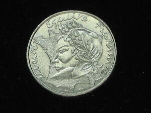 Rare monnaie EN FRAPPE MEDAILLE  10 Francs Jimenez 1986