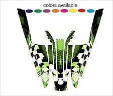 kawasaki 550 sx jet ski wrap graphics pwc stand up jetski decal sticker kit a9