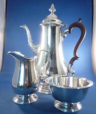 BARKER ELLIS ENGLISH SILVER PLATE BEAUTIFUL 3 PIECE TEA SET