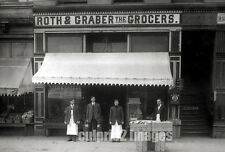 1905 - OREGON Salem Photograph - Roth & Graber Grocers