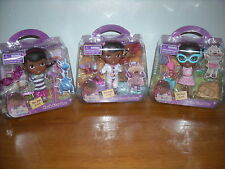 Brand New Disney DOC McSTUFFINS DOLL Rock Star, Swim Time and Time for Checkup