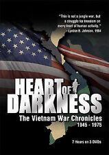 Heart of Darkness - The Vietnam War Chronicles 1945-1975, DVD, 2006, 3-Disc, NEW