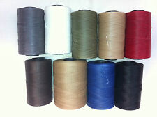 Waxed thread * slipping twine. Upholstery / craft thread hand sewing etc