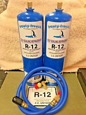 R12 Refrigerant R-12, (2) 28 oz. Cans, With LEAK STOP, ProSeal XL4, 1 to 5 HP