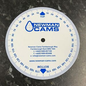 Camshaft Timing Disc For Cam Timing - Newman Cams