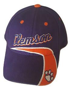 Clemson Tigers Youth Hat Adjustable Cap Team Colors