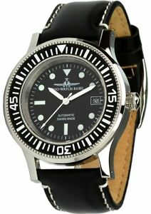 Zeno Watch Basel AS 2063 Swiss Made Automatic Wristwatch Men's Watch Zeno-Etui