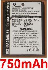 Bst-36 type 750mah battery for sony ericsson k310a k310c k310i