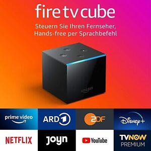 Amazon Fire TV Cube 4KUHD-Streaming-Mediaplayer mit Alexa Sprachfernbedienung