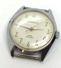Vintage Caravelle N3 Mechanical Water Resistant Men's Wrist Watch, Running