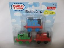 Thomas & Friends Engine Pack Fisher Price James Percy Kids New Free Ship Train