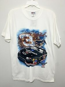 NWT Dale Earnhardt NASCAR T-Shirt Short Sleeve L Chase Authentics Graphic print