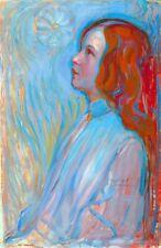 Devotion by Dutch Piet Mondrian. Religion Reproduction Print on Canvas or Paper