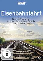 DVD Eisenbahnfahrt Führerstandsfahrt de Leipzig Nach Dresden