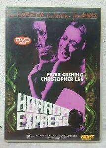 Horror Express DVD Peter Cushing Movie 1970's Rare Vintage Horror